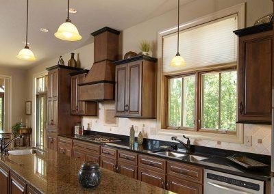 Wood Kitchen Cabinets Photo